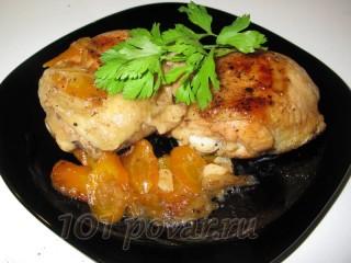 Куриные бедра в кисло-сладком соусе