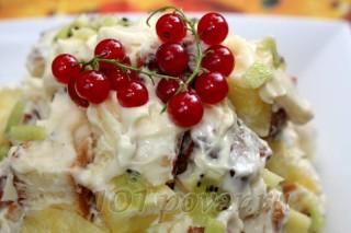 Бисквитно-фруктовый десерт «Панчо»