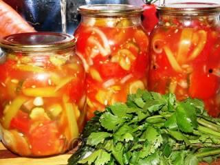Овощной салат «Летний»