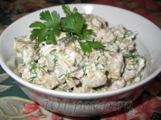 Салат из баклажанов «Необычный»