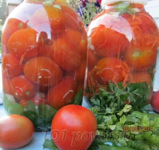 Маринованные помидоры с аспирином