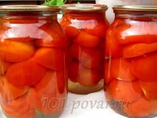 Маринованные помидоры «Половинка»