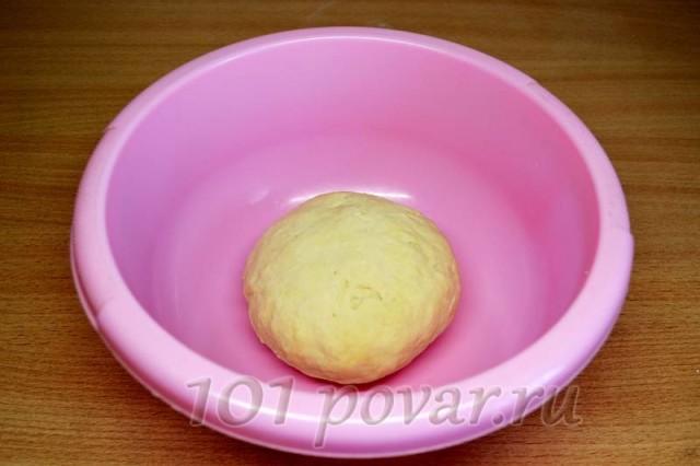 В результате имеем прекрасно сформированное и послушное тесто для хинкали