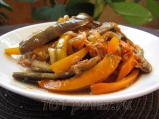 Овощной салат «Осенние ноты»